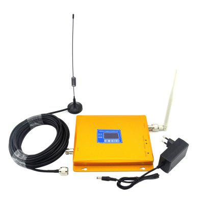 2G GSM 900MHz 4G LTE DCS 1800MHz Mobile Phone Signal Booster Dual Band lot of 10pcs unlocked aircard ac790s 4g mobile hotspot sierra wireless lte cat6 300m portable wifi router plus 49dbi 4g antenna