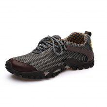 ZEACAVA Breathable Mesh Outdoor Climbing Rubber Outsole Shoes
