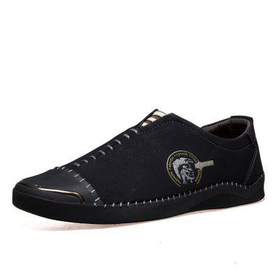 Фото Men Handmade Classic Leather Oxford Casual Shoes Business Sneakers