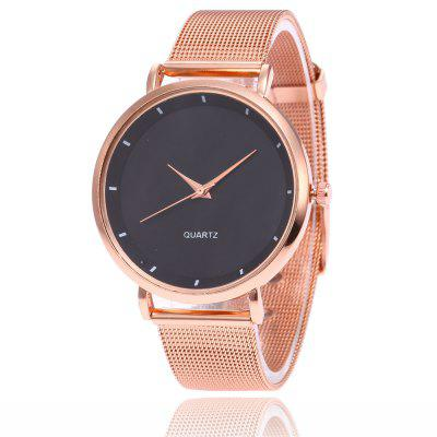 V5 Women Minimalist Fashionable Steel Quartz Watch irit ir 3019