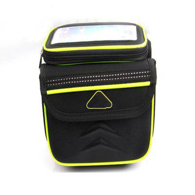 Waterpoof Frame Front Tube Pannier Bike Bicycle Cycling Saddle Bag