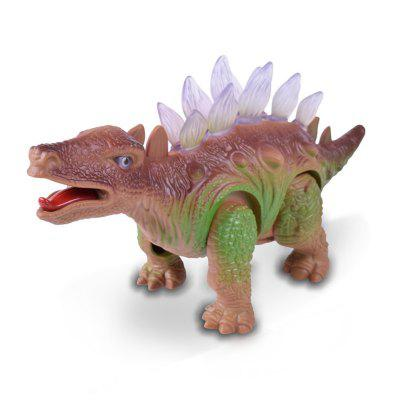 Electric Dinosaur Model Lighting Sound Simulation Toy creative simulation plush soft fox naruto toy polyethylene