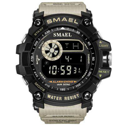 SMAEL Men Military Army LED Digital Big Dial Sports Outdoor Watches