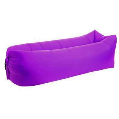 Camping Chair Portable Beach Air Sofa Bed Inflatable Lounger deluxe single folding inflatable sofa beanbag bed