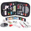 Mini Sewing Kit with Sewing Survival Ebook - BLACK