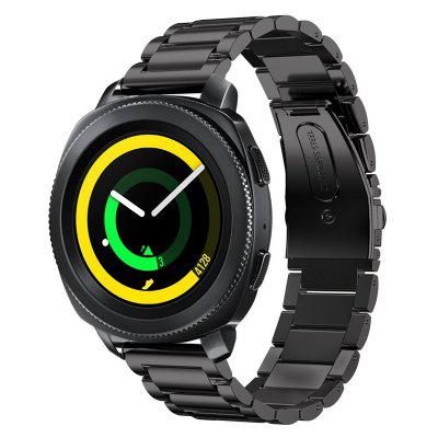 Stainless Steel Band Replacement for Samsung Gear Sport SM-R600 Gear S2 Classic top quality luxury brand silicone rubber watch band v strap for samsung galaxy gear s2 sm r720 replacement straps accessories