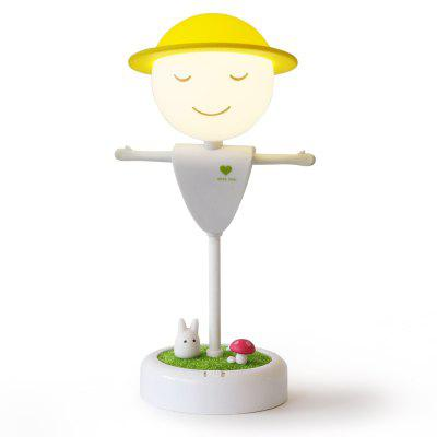 Gift Doll Creative Scarecrow Vibration Sensor Dimmable LED Night Light
