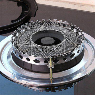 2PCS Cooking Windproof Energy-saving Cover Net Stove Wind Resistant Circle