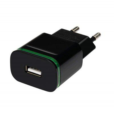 Szybka ładowarka LED Light 5V / 2A EU Plug USB Power Adapter