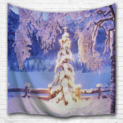 Ice World 3D Printing Home Wall Hanging Tapestry for Decoration