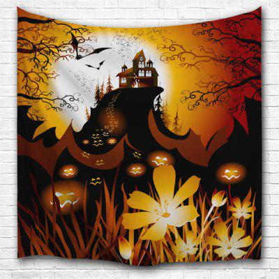 Pumpkin Cluster 3D Printing Home Wall Hanging Tapestry for Decoration