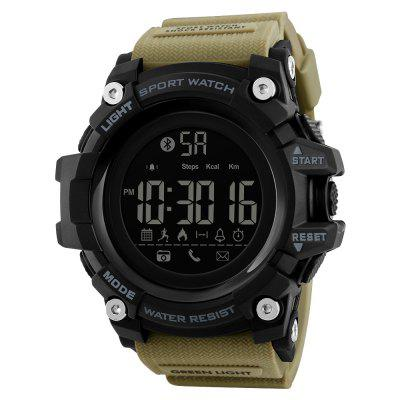 SKMEI Men Smart Sports Pedometer Calorie Chronograph Fashion Digital Watch