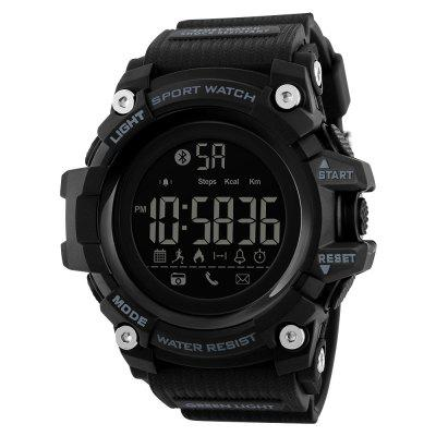 SKMEI Men Smart Sports Pedômetro Caloria Chronograph Moda Digital Watch