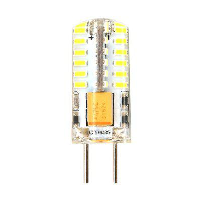 GY6.35 Bi-Pin Base LED Bulb AC/DC12V 3 Watt Cold White 6500-7000K 25W Equivalen