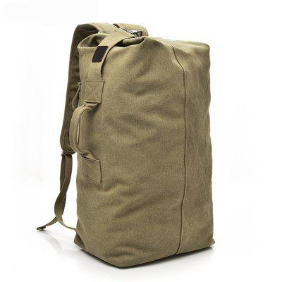 Fashionable Large Capacity Outdoor Tourist Men Canvas Bucket Backpack arctic hunter large capacity rucksack men s backpack fashion men backpack multi function leisure travel men s laptop backpack