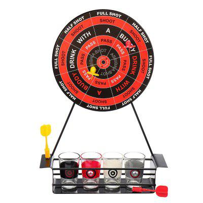 Creative Magnet Dart Toy Party Entertainment Drinking Game with Glass Cup spengler cup 2018 game 4