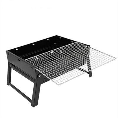Portable Lightweight BBQ Tool Outdoor Cooking Camping Hiking portable folding chairs aluminium alloy outdoor picnic camping hiking fishing bbq garden stool foldable chair seat wholesales