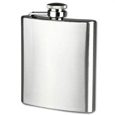 8oz Portable Stainless Steel Leak Proof Hip Flask
