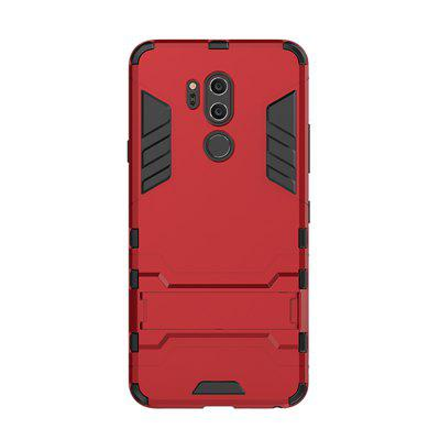 Case for LG G7 with Stand Back Cover Solid Colored Hard PC Material gzeele new laptop bottom case cover for hp g7 2030 g7 2050 g7 2243 g7 2270 g7 2240 g7 2256 series g7 case base 708037 001