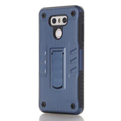 Case for LG G6 with Stand Back Cover Solid Colored Hard PC Material