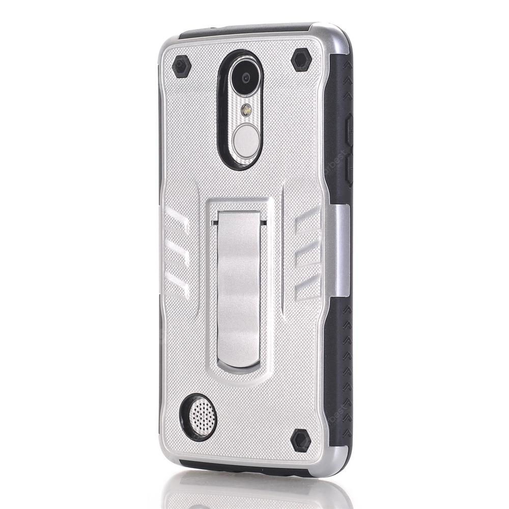 Case for LG V1 with Stand Back Cover Solid Colored Hard PC Material