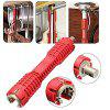 Faucet and Sink Installer Multifunctional Water Pipe Wrench - RED