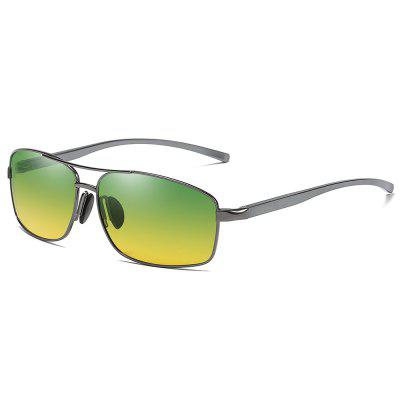 GS2458 Classic Square Metallic Sunglasses