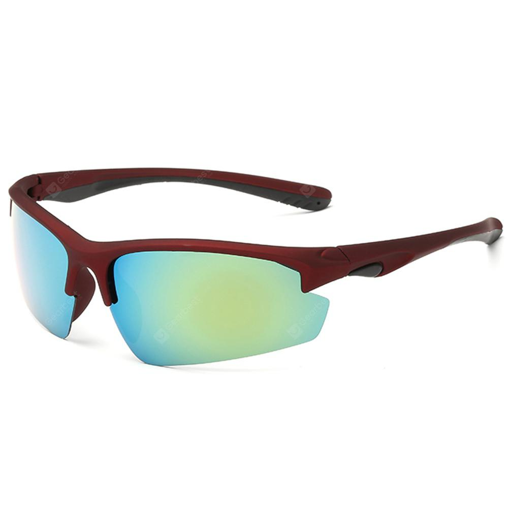 GS8512 Half Frame Outdoor Sports Sunglasses
