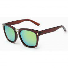 GS8613 Big Metal Box Sunglasses