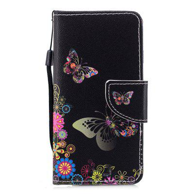 Luxury Style PU Leather Protective Wallet Flip Case Cover for iPhone 6 / 6S migg butterfly style protective pu leather case cover for iphone 5 pink green