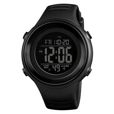SKMEI New Trend Stopwatch Noctilucent Alarm Integral-Point Electronic Watch