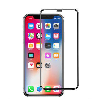 For IPhone X Screen Protector 5D Curved Anti-Spy Full Coverage Tempered Glass