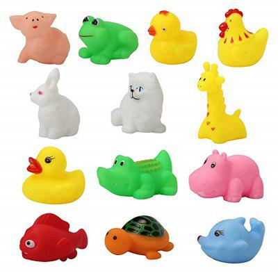 Baby Wash Bath Play Animali Giocattoli 13PCS