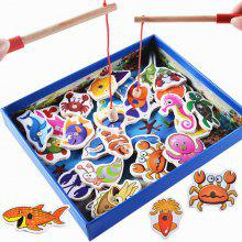 Marine Biological Congnition Magnetic Toy 32PCS
