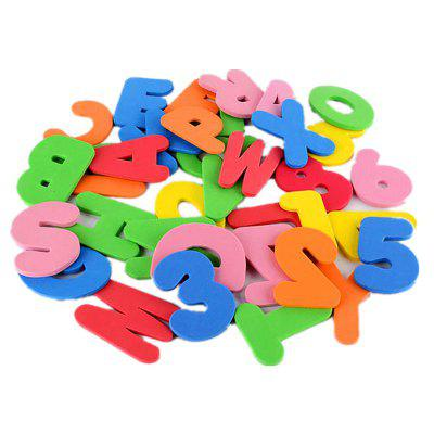 Baby Foam Letter and Numbers Stickers Water Stickers Toy 36PCS class numbers quadratic and cyclotomic fields