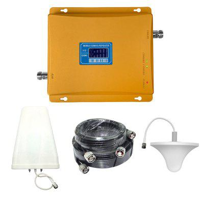 2G GSM 900MHz 3G W-CDMA UMTS 2100MHz Mobile Phone Signal Booster with Antenna