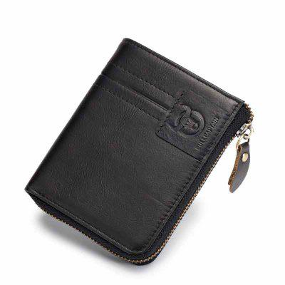 Bifold Men's Leather Wallet Coin Holder Credit Card playstation console bifold pu wallet dft 10096