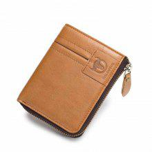 Bifold Men's Leather Wallet Coin Holder Credit Card
