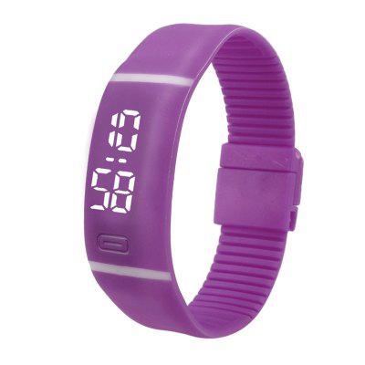 HONHX Men Women Silicone LED Date Sports Bracelet Digital Watch тестер напряжения sturm 1040 02 vt