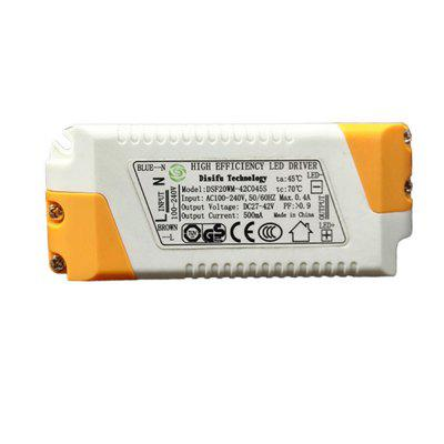 High Efficiency 20W LED Driver Lighting Transformer Power Supply ce approved oem 500w 15v dc power supply high efficiency transformer 15v 32a china supplier