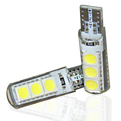 5 Pieces 3W 300LM 6000K T10 W5W CAN-bus LED Width Light Side Marker Bulb White ff035 2 point school bus