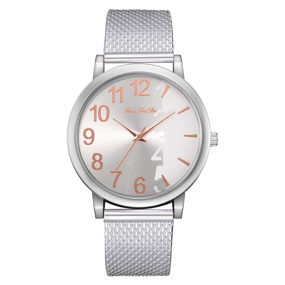 Fanteeda FD190 Unisex Neutral Mesh Steel Watch