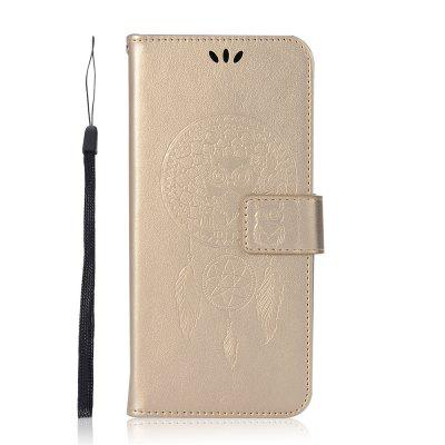 For Samsung NOTE8  Owl Dandelion Embossed Protective Cover