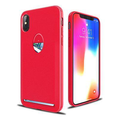 For IPhone X Case Card Holder Wallet Slot Cute Phone Cover Cardholder