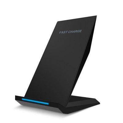 For IPhone X/8/8 Plus Wireless Charger Fast QI Charging Pad Stand зарядное устройство nillkin fast wireless charging stand fs wcp fc1