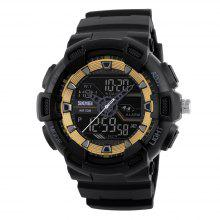 Men Multifunctional Fashion Sports Water-resistant Shockproof Electronic Watch