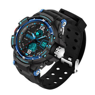 SANDA Heren LED Fashion Sport militaire horloges
