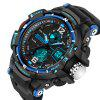 SANDA Male LED Sport Sport Montre-bracelet militaire - BLEU ROYAL