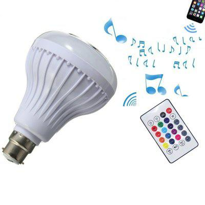 1PC Smart Bluetooth Music Speaker Lamp LED Bulb B22 Intelligent Light for Party
