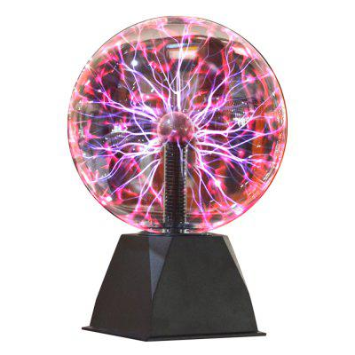 6-inch Glass Plasma Ball Lamp Gifted Touching Decoration 4 inch 6 inch straight cup diamond grinding wheel for glass edger straight line double edging beveling machine m009